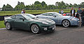 Aston Martin Vanquish and Jaguar XK - Flickr - exfordy.jpg