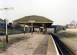 Het station in 1989