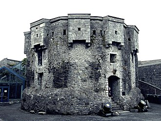 John de Gray - Part of the fortifications at Athlone Castle, built on John de Gray's orders