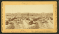 Atlanta, Georgia, just after its capture. (Covered wagons near the train depot.), by Taylor & Huntington.png