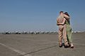 Atsugi, Japan (May 1, 2003) -- The jets have landed 030116-N-HX866-008.jpg