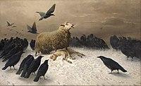 August Friedrich Albrecht Schenck - Anguish - Google Art Project.jpg