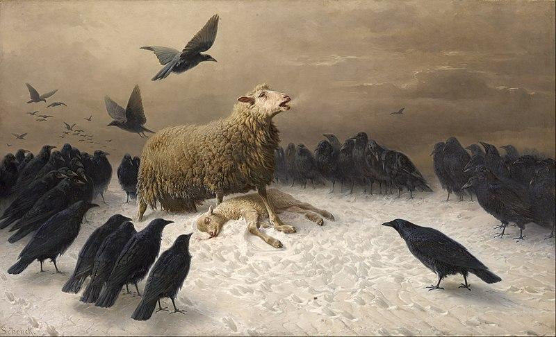 File:August Friedrich Albrecht Schenck - Anguish - Google Art Project.jpg