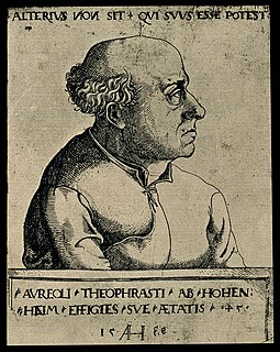 Paracelsus Swiss physician and alchemist