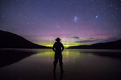 Aurora Australis Over the Tasman Sea from SouthWest National Park.jpg