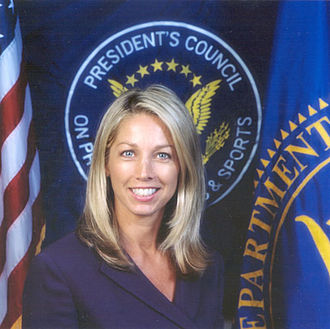 Denise Austin - Austin as a member of the President's Council on Physical Fitness and Sports