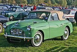 Austin A40 Sports (1950) mit Karosserie von Jensen