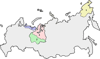 Autonomous okrugs of Russia - Image: Autonomous districts of Russia