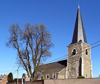 Awans - Image: Awans Eglise Sainte Agathe