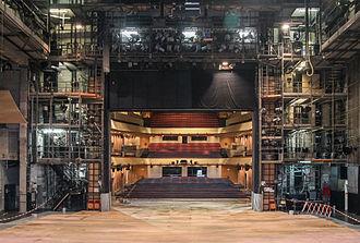 Kleines Festspielhaus - Image: Bühne Haus für Mozart Salzburg