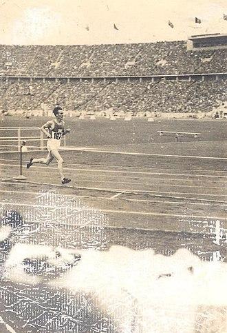 Volmari Iso-Hollo - Volmari Iso-Hollo, 1936 Summer Olympics