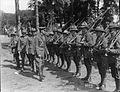BG Hart inspecting men of 4th Brigade, July 1917.jpg