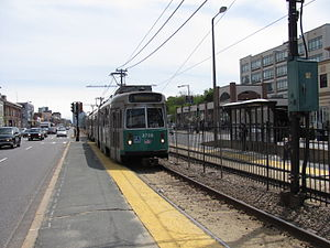 Babcock Street MBTA station, Boston MA.jpg