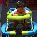 Baby Girl in Stroller - Outside Alameda Park - Mexico City - Mexico (20449230899).jpg