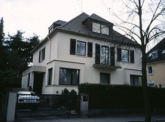 Bad Nauheim - Goethestrasse 14, the home of Elvis Presley in Bad Nauheim