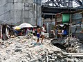 Bad sanitation in a squatter settlement in Manila, Philippines (3485436147).jpg