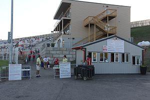 Badlands Motor Speedway - Ticket booth