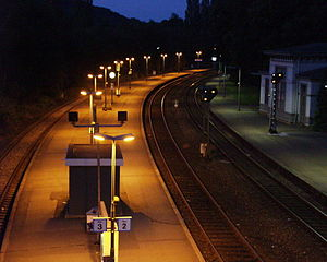 Halle–Vienenburg railway - Vienenburg station