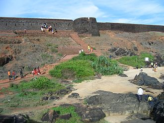 Bekal Fort - View from beach