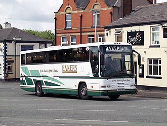 BakerBus - Plaxton bodied Volvo B10M-62 in June 2008