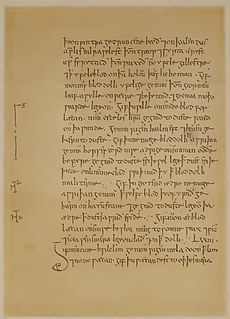 manuscript collection of medical remedies in Old English