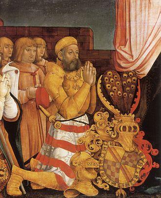 County of Sponheim - Christopher I, Margrave of Baden-Baden, joint ruler 1475–1515