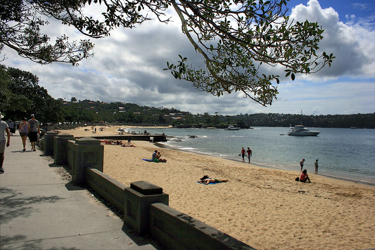 Beach in Mosman NSW
