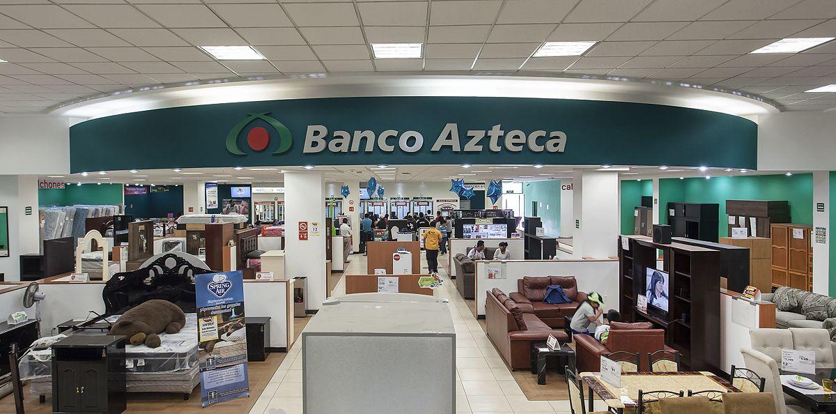 Banco azteca wikipedia la enciclopedia libre - Fotos de bancos para sentarse ...