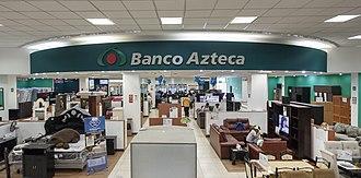 Grupo Elektra - Entry into the Banco Azteca