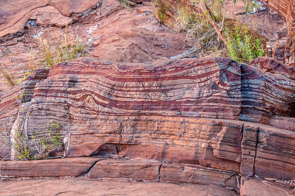 Banded iron formation Dales Gorge