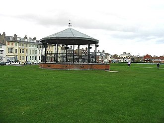 Deal barracks bombing - Memorial bandstand at Walmer Green
