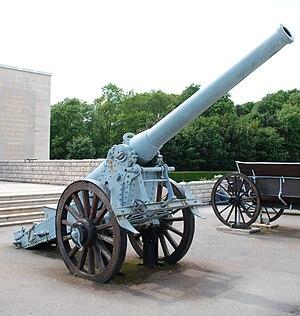Verdun Memorial - Image: Bange 155 L Memorial de Verdun