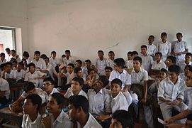 Bangla Wikipedia School Program at Chittagong Collegiate School 03.jpg
