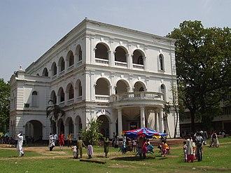 Bangla Academy Literary Award - Bangla Academy building in Dhaka