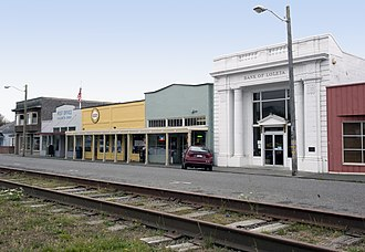 National Register of Historic Places listings in Humboldt County, California - Image: Bank of Loleta California