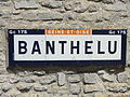 Banthelu (95), plaque Michelin.JPG