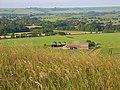 Barns below Woodborough Hill - geograph.org.uk - 843850.jpg