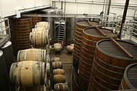Barrel fermentation tanks at Sterling Winery.jpg