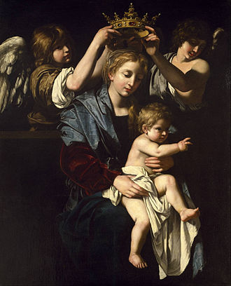 Bartolomeo Cavarozzi -  Virgin and Child with Angels, Museum of Fine Arts, Houston