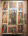 Basso reno, san francesco predica agli uccelli, 1230-40 ca. (karlsruhe, badische landesbibliothek) 02.jpg