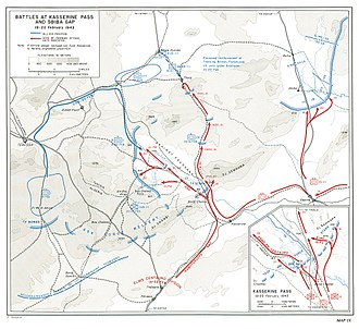 Battle of Kasserine Pass - Battle of Kasserine Pass