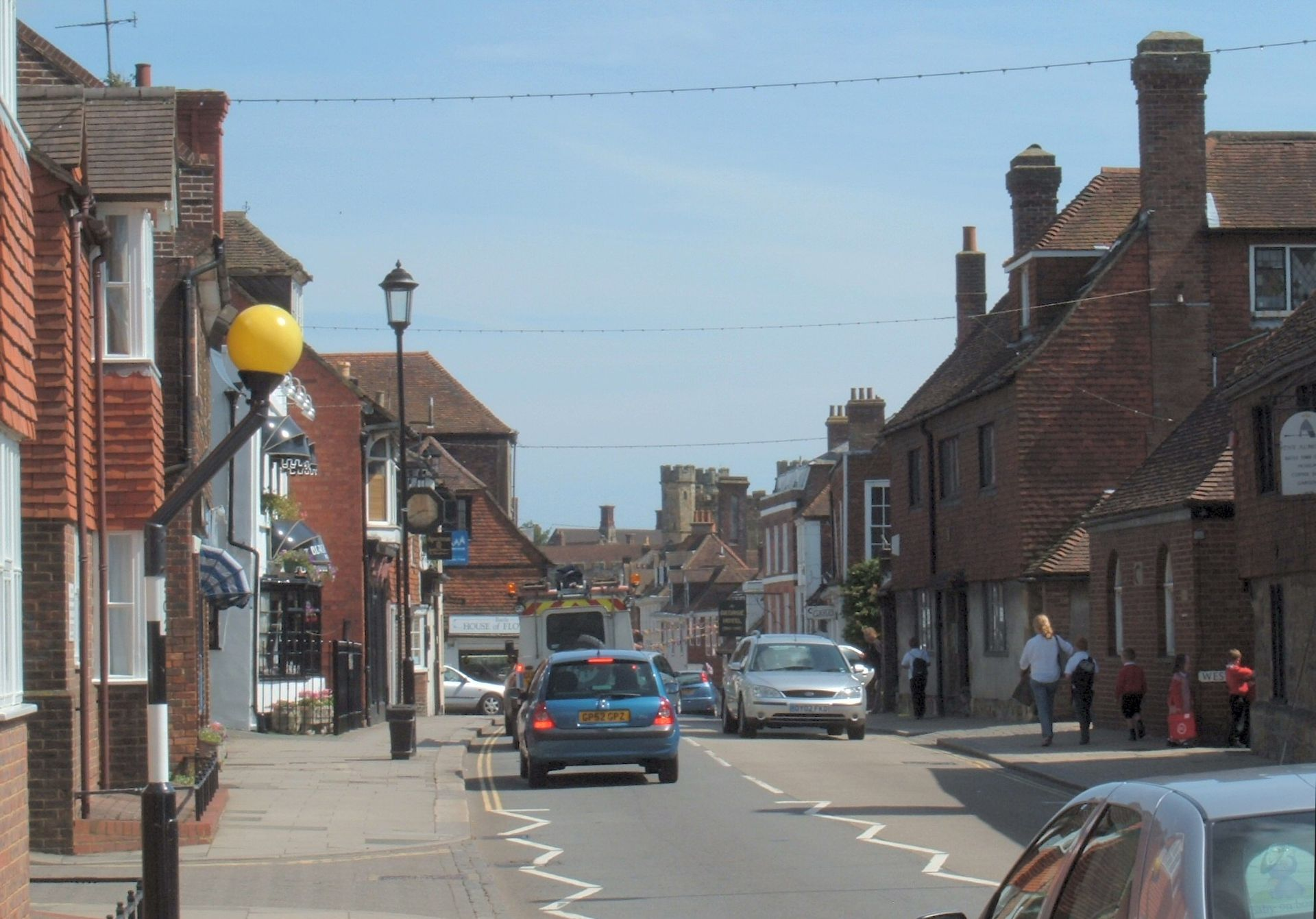 road map of battle east sussex