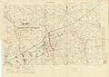 Battle of Poelcappelle - Trench map of disposition of the 2nd Autralian Division at zero hour on 9 October 1917.jpg