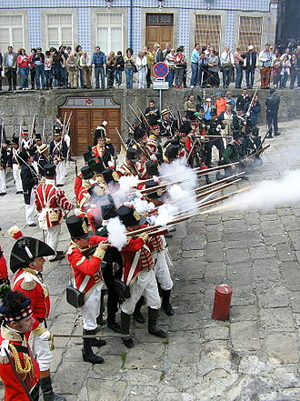 Second Battle of Porto - Reenactment of the battle