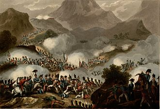 Battle of the Pyrenees - Battle of the Pyrenees, July 28th 1813 by Thomas Sutherland
