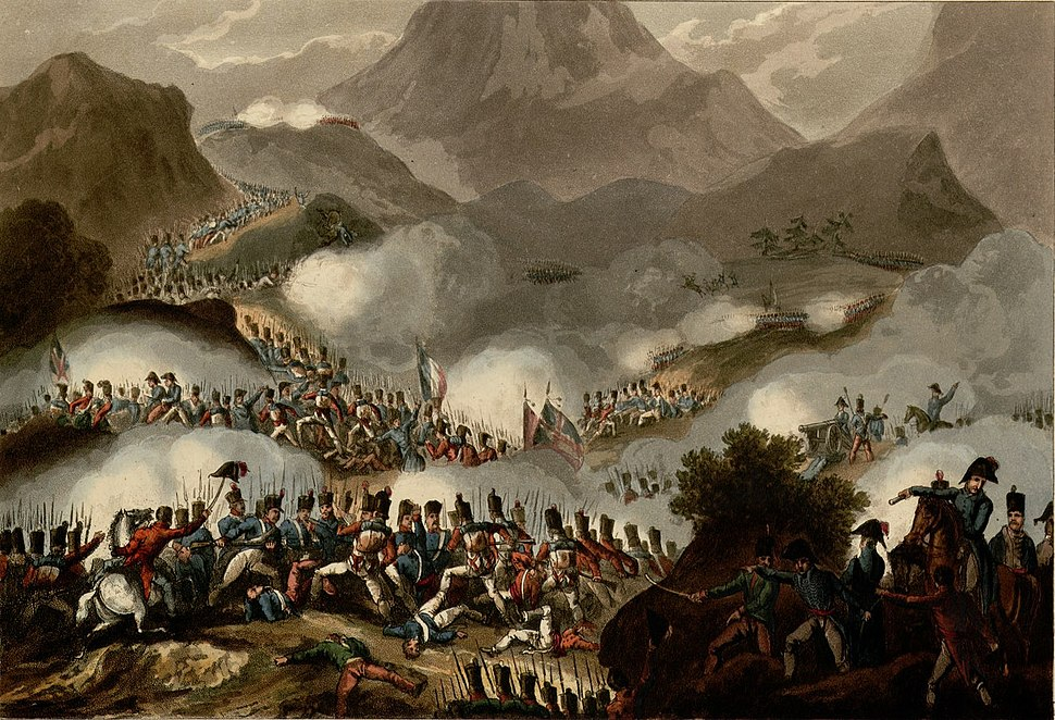 Battle of the Pyrenees, July 28th 1813 - Fonds Ancely - B315556101 A HEATH 035