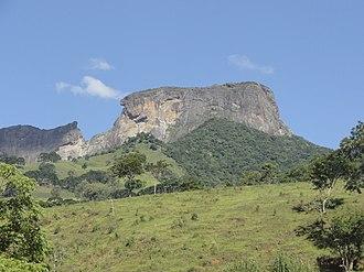 Environmental protection area (Brazil) - Bauzinho and Pedra do Baú formations in the Sapucaí Mirim Environmental Protection Area