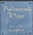 Bayreuth Rollwenzelei, Schild, 06.04.07.jpg