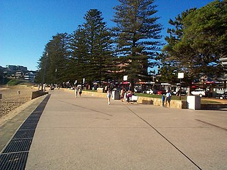 Terrigal, New South Wales - Image: Beach Front
