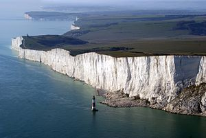 Beachy Head - Beachy Head from the air